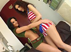 Leona & Destiny TamedTeens